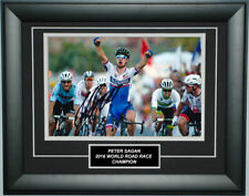 Peter Sagan Signed 8X12 inches 2016 UCI World Road Race Champion Photo Frame
