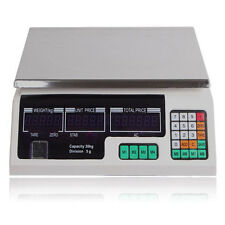 30Kg Digital LCD Electronic Display Pricing Postage Postal Weighing Scale Scales