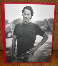 SIGNED Bruce Weber Sam Shepard Jessica Lange Black White Photographs 1st ED HC