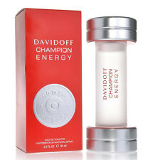 CHAMPION ENERGY-DAVIDOFF FOR MEN-EDT-SPRAY-3.0 OZ-90 ML-AUTHENTIC-MADE IN FRANCE
