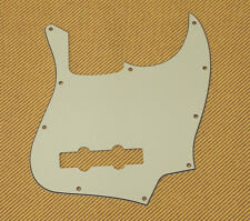 3-Ply Mint Green Standard 10-Hole Pickguard For Fender Jazz Bass® PG-0755-024
