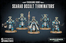 Thousand Sons Scarab Occult Terminators Chaos Space Marines Warhammer 40k