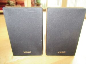 14U/ PAIR OF TEAC LS-MC80 60 WATT BOOKSHELF SPEAKERS/TESTED & WORK GREAT!