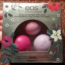 EOS Holiday Lip Balm Set, 3-pk. WILBERRY, PASSION FRUIT & HONEY APPLE Ltd. Ed.