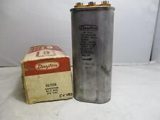 Dayton Oval Oil Capacitor 20/4MFD 370 Vac 4X7638