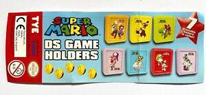 1 x Super Mario DS Spielehülle, Gamehülle, Spiele, Aufbewahrungsbox, NEU