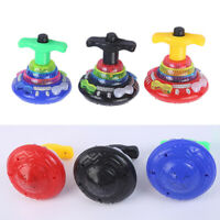 3pcs Funny Flashing Music Gyro LED Spinning Top Gyrator Kids Toys Party Supplies