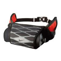 NIKE Storm Hydration Reflective Waistpack Water Bottle New OSFM Black /  Gray