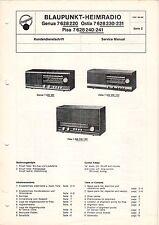 BLAUPUNKT - Genua 7628220 Ostia - Kundendienstschrift Service Manual - B3309