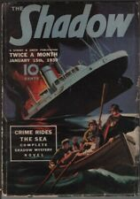 Shadow 1939 January 15.     Pulp