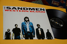 THE SANDMEN LP WESTERN BLOOD ORIG 1989 NM !