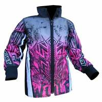 Wulfsport Kids Cub Aztec Motocross MX Quad Bike Jacket - Pink