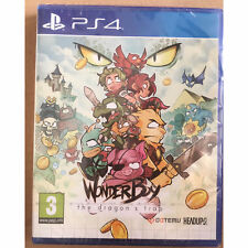 Wonder Boy The Dragon's Trap (PS4) New and Sealed