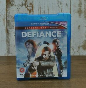 Defiance seasons 1-3 Blu-Ray 1 2 3 complete collection 37 episodes 10 discs
