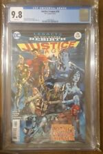 Justice League #26 CGC 9.8 DC 1st Appearance of Super Kids  Rebirth