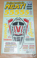 Tamiya 58489 Avante 2011, 9495667/19495667 Decals/Stickers, NIP