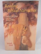READING BIBLICAL NARRATIVES By Yairah Amit (Paperback 2001) Very Good Cond