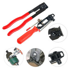 2Pcs CV Clamp and Joint Boot Clamp Pliers Set Banding Crimper Cutting Hand Tool