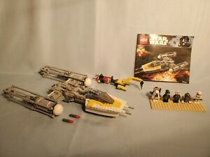 LEGO Star Wars #75172 Y-Wing Starfighter - Complete, All Minifigures, Rogue One