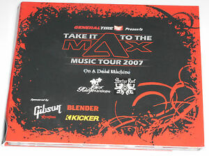 """Take It To The Max Music Tour 2007 CD """"General Tire Presents"""""""
