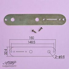PLAQUE CONTROLE TELECASTER Relic GOTOH Control Plate Tele Chrome Aged CPT1C-AGED