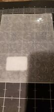 Sizzix / Ellison embossing folders texture impressions Daisy flower and vines