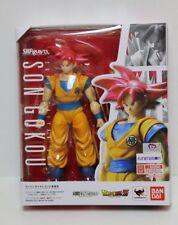 "S.H. Figuarts Dragonball Z Super Saiyan God SSH Son Goku 6"" Figure USA"