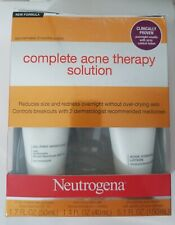 Neutrogena Acne Therapy System  ~ Please Read ~ No Skin Polishing Cleanser