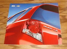 Original 2004 Chevrolet Aveo Deluxe Sales Brochure 04 Chevy