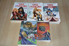 lot 5 livres série TARA DUNCAN - grands  formats