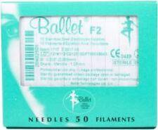 Ballet Electrolysis Needles F2- 50PK EXP 07/2020