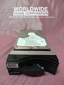 IBM FC# 8518 08L8641 09L1813 18.2GB 10K SSA Drive Module 7133-D40 T40 pSeries