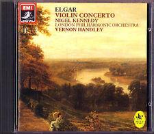 Nigel KENNEDY: ELGAR Violin Concerto VERNON HANDLEY CD 1984 Violinkonzert