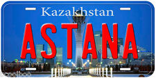 Astana Kazakhstan Aluminum Novelty Car License Plate P01