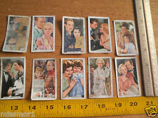 Film Episodes cigarette cards Gallaher Laurel & Hardy lot of 10 1930's The Raven