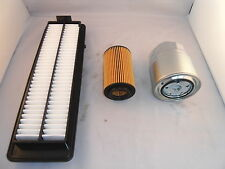 Honda Accord 2.2 CRDT Diesel Service Kit Oil + Air Filter Spark Plugs 2006-2008
