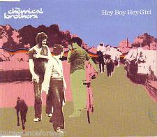 THE CHEMICAL BROTHERS - Hey Boy Hey Girl (UK 3 Tk CD Single)