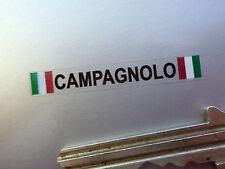 Campagnolo texto & Tricolore Rueda Pegatinas Set De 4 De 40 Mm Ferrari Alfa Maserati