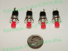 Momentary Push Button switches, N.O.,  4 pieces LOT,  USA seller, fast shipping!