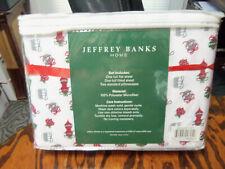 Jeffrey Banks Holiday Microfiber 4-piece Sheet Set Xmas Holiday #04