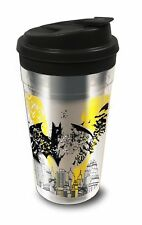 Batman Coffee Cup Reflections Silver 445 Ml Cup Thermos Mug Funny Gift Mugs