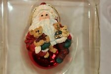 Boyds Bearstone - Peppermint Nick Ornament - Style # 733353 - 1st Edition