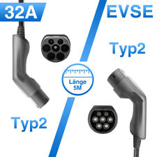 Electric Vehicle Charger Type 2 EV Charging Cable Cord 32A IEC 62196-2 Level 2