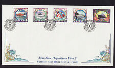 Guernsey 1999 FDC - Maritime Definitives, part 2 - with 5 stamps