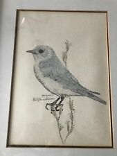 SIGNED & NUMBERED LIMITED EDITION BIRD ETCHING R GLENN GARRISON 1995