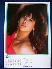 1987 Sophie Marceau Japan VINTAGE calendar POSTER VERY RARE