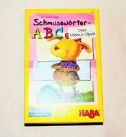 HABA Schmusewörter ABC Das Memo-Spiel ab 4 Jahren Neuwertig
