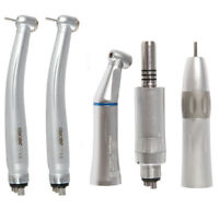 Contrangulo Pieza de Mano Micromotor +2 Turbina Dental High Speed Handpiece 4H