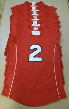 Radford University Large Lot Of Official Volleyball Jerseys Big South Conference