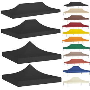 Ersatzdach für 2x3 3x3 3x4 3x4.5 3x6m Pavillondach Dachplane Pavilliondach